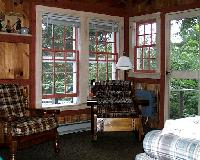 Living room of Pine Cottage